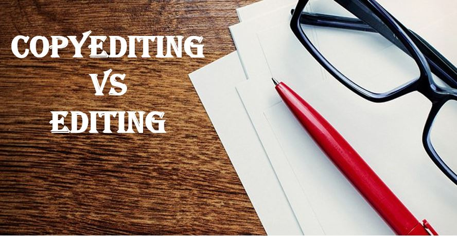 editing vs copyediting