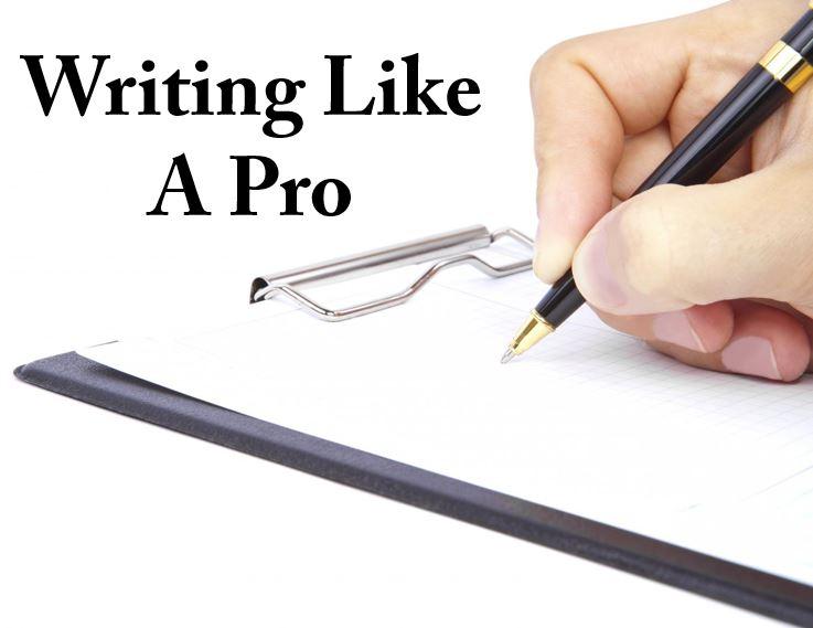 writing like a pro