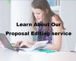 Proposal editing service